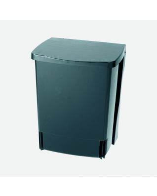 Inbouwemmer Built-in Bin 10 liter - Black