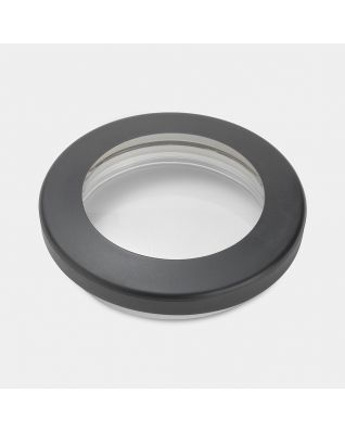 Lid for Clear Top Canister, diameter 10 cm - Black