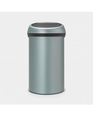 Touch Bin 60 litros - Metallic Mint