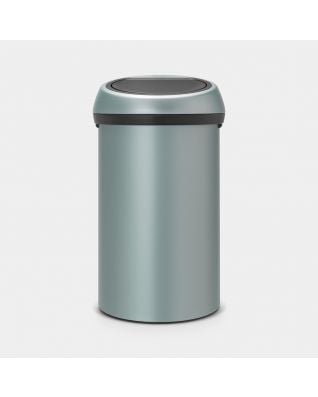Touch Bin 60 litre - Metallic Mint