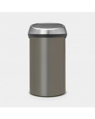 Touch Bin 60 litros - Platinum