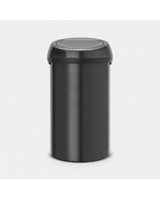 Touch Bin 60 litros - Matt Black