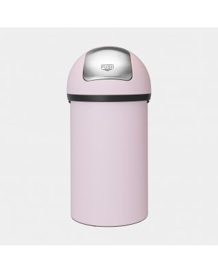 Push Bin, 60 litres - Mineral Pink
