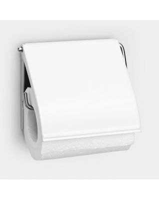 Toilet Roll Holder Classic - White