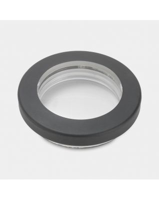 Lid for Clear Top Canister, diameter 7.5 cm - Black