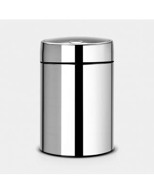 Slide Bin, 5 litre Brilliant Steel