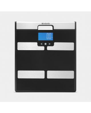 Bathroom Scales Battery Powered - Black