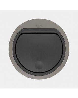 Lid Touch Bin 30 litre or 20 litre, flat - Platinum