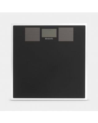 Bathroom Scales Solar Powered - Black