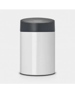 Slide Bin, 5 litre White