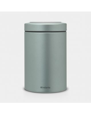 Window Lid Canister 1.4 litre - Metallic Mint