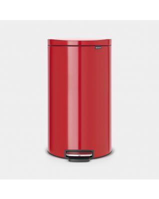 Treteimer Flatback+ 30 Liter - Passion Red