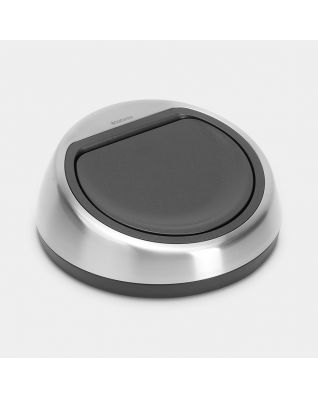 Couvercle Touch Bin, 60 litres - Matt Steel