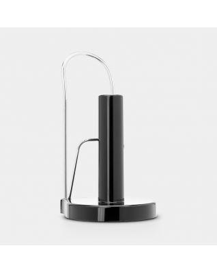 Kitchen Roll Holder Free Standing - Brilliant Steel