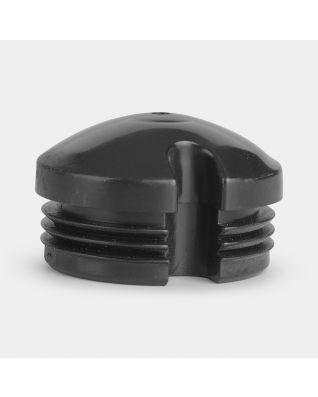 Tapa de cierre para tubo de tendedero, 50 mm