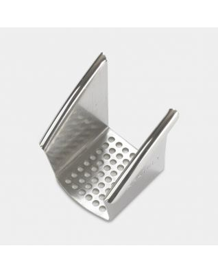 Sieve Garlic Press Curved - Brilliant Steel