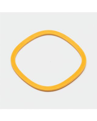 Anti-slip ring voor mengkom, 75 mm - Honey Yellow