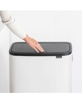 Bo Touch Bin Hi 60 litros - White