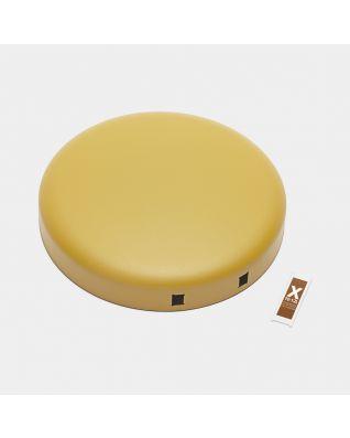 Couvercle poubelle à pédale newIcon 12 litres - Mineral Mustard Yellow