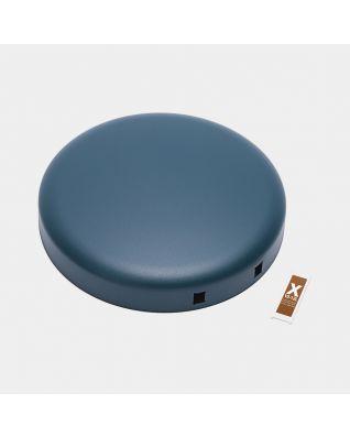 Couvercle poubelle à pédale newIcon 12 litres - Mineral Reflective Blue