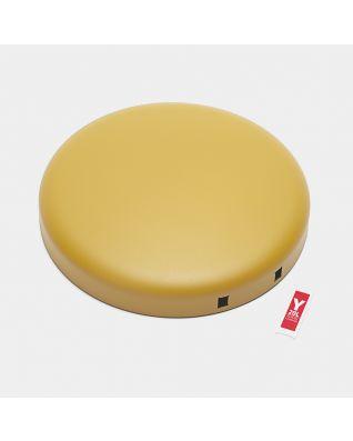 Couvercle poubelle à pédale newIcon, 20 litres - Mineral Mustard Yellow