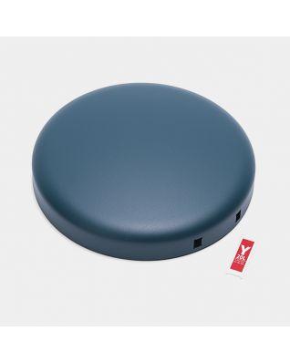 Tapa para cubo pedal newIcon, 20 litros - Mineral Reflective Blue