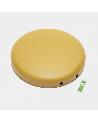 Coperchio pattumiera newIcon, 30 litri - Mineral Mustard Yellow