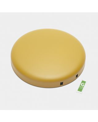 Lid Pedal Bin newIcon, 30 litre - Mineral Mustard Yellow
