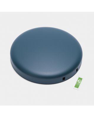 Lid Pedal Bin newIcon, 30 litre - Mineral Reflective Blue