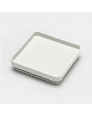 Lid Square Canister - Light Grey