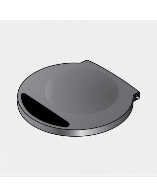 Couvercle (sans joint) incl. Piles, s'adapte uniquement à la poubelle Sensor - Black