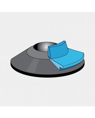 Unidad de pedal para tubo de tendedero Rotary