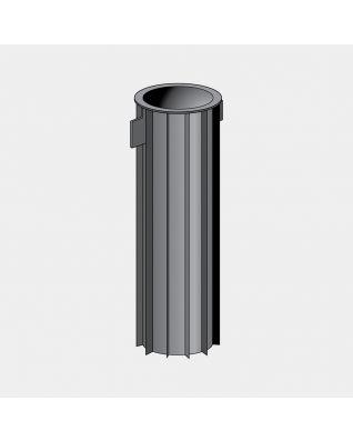 Base tubo fissaggio, Ø 45 mm