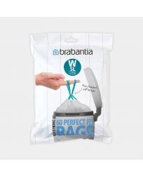 PerfectFit Bags For newIcon, Code W (5 litre), Dispenser Pack, 60 Bags