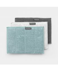 Microfibre Cleaning Pads Set of 3 - Mixed