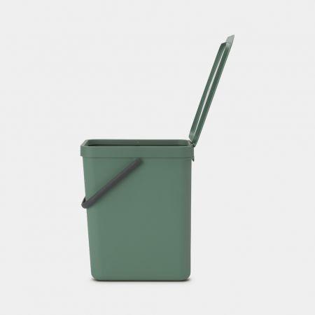 Handige groene prullenbak afval scheiden