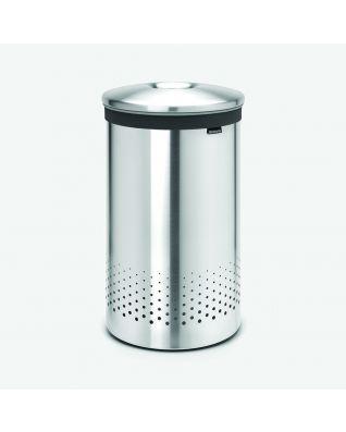 Laundry Bin 60 litre - Matt Steel