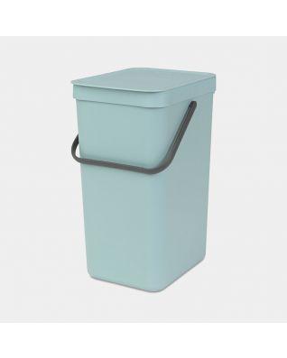 Sort & Go Waste Bin 16 litre - Mint
