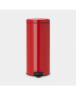 Pedal Bin newIcon 30 litre - Passion Red