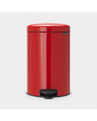 Pedal Bin newIcon 20 litre - Passion Red