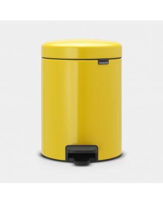 Cubo pedal newIcon 5 litros - Daisy Yellow