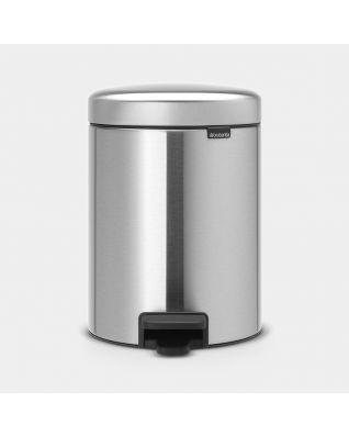 Pedal Bin newIcon 5 litre - Matt Steel