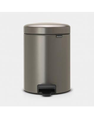 Pedal Bin newIcon 5 litre - Platinum