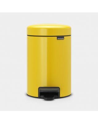 Cubo pedal newIcon 3 litros - Daisy Yellow