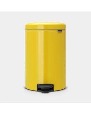 Pedal Bin newIcon 20 litre - Daisy Yellow