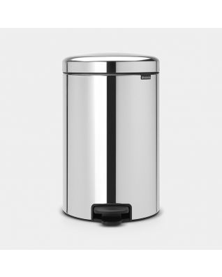 Pedal Bin newIcon 20 litre - Brilliant Steel