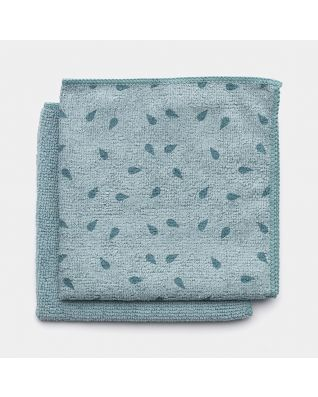 Microfibre Dish Cloths Set of 2 - Mint