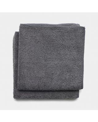 Geschirrhandtücher Mikrofaser 2er Set - Dark Grey