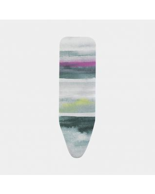 Ironing Board Cover B 124 x 38 cm, Top Layer - Morning Breeze