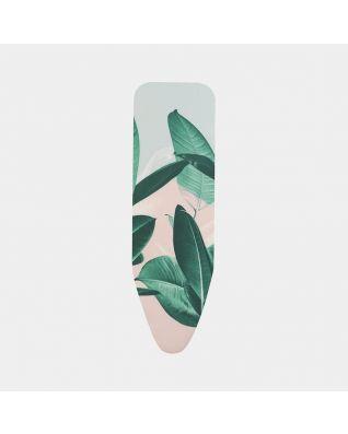 Copriasse da Stiro B 124 x 38 cm, Set Completo - Tropical Leaves